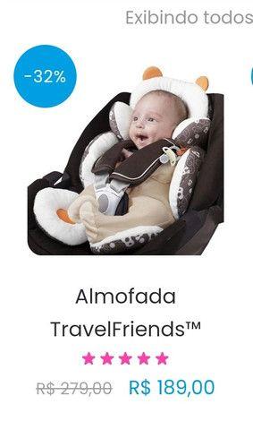 Almofada TravelFriend Original - para Bebê Conforto - Foto 3