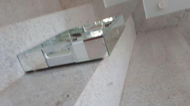 Jogo(3) bandejas espelhadas! Lindas, boa qualidade! - Foto 3