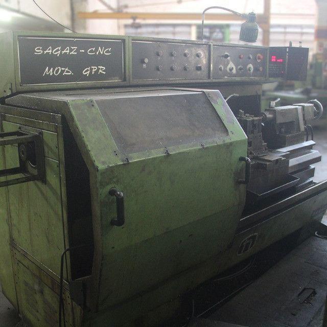 Torno mod. Gpr SZ250 Nardini Sagaz CNC - ML74 Usado - Foto 3