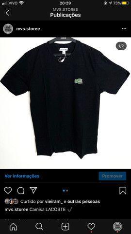 Camisas masculinas malha peruana