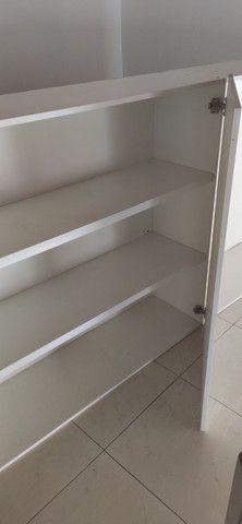 Armário cozinha MDF branco 4 portas - Foto 3