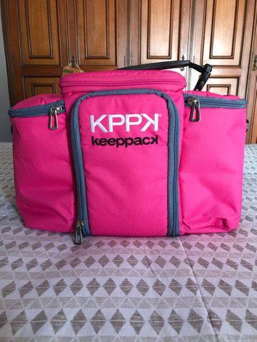 Bolsa Térmica Keeppack MAX Rosa 4 Refeições