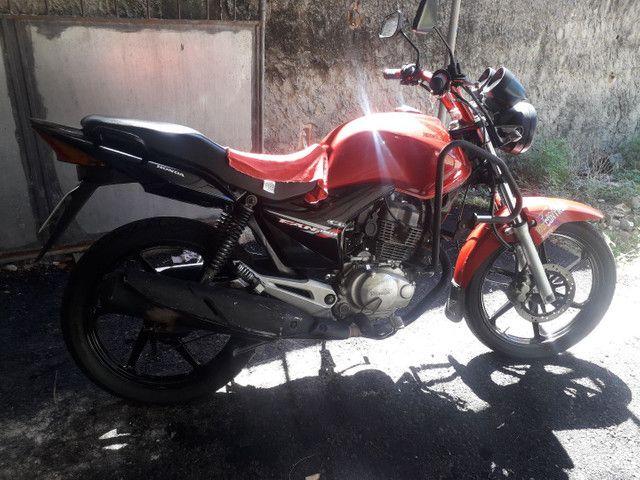 Moto fan 150 cc cg Honda semi nova  - Foto 3