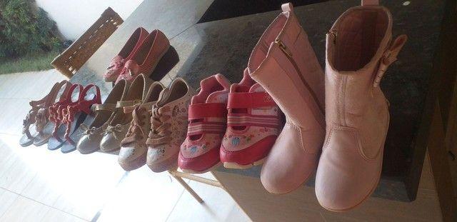 Sapatos infantis de menina - Foto 4