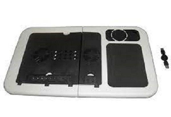 Mesa Para Notebook Dobrável Portátil Articulada Com Cooler - Foto 4