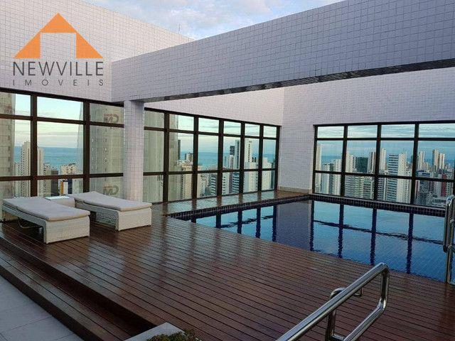 Apartamento com 1 quarto para alugar, 27 m² por R$ 2.995/mês - Boa Viagem - Recife - Foto 16