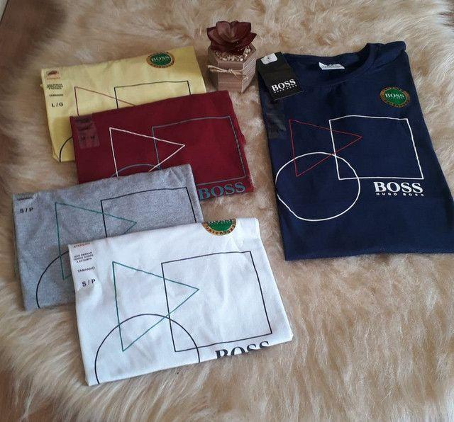 Camisa Masculino Hugo Boss Linha Premium - Foto 5