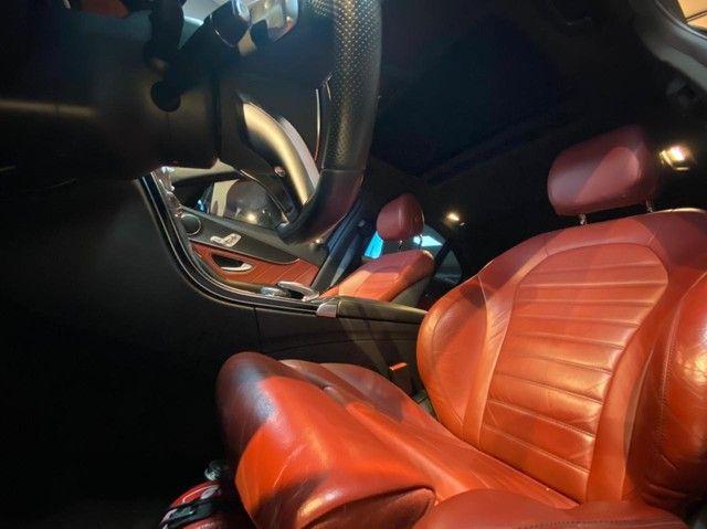 Mercedes C250 Sport, 2015, interior vermelho, blindada nível 3A, configuração Linda  - Foto 12