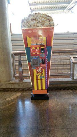 Máquina de pipoca automática, vending machine, marca Mais Pipoca(Almeida Tecnologic - Foto 2