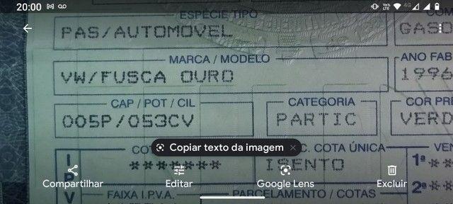 Fusca Série Ouro 1996 - Foto 5