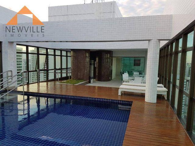 Apartamento com 1 quarto para alugar, 27 m² por R$ 2.995/mês - Boa Viagem - Recife - Foto 17