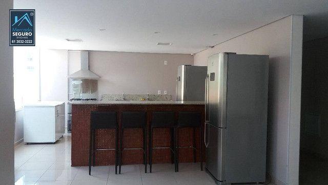 Apartamento com 1 dormitório para alugar, 42 m² por R$ 1.150,00/mês - Sul - Águas Claras/D - Foto 9