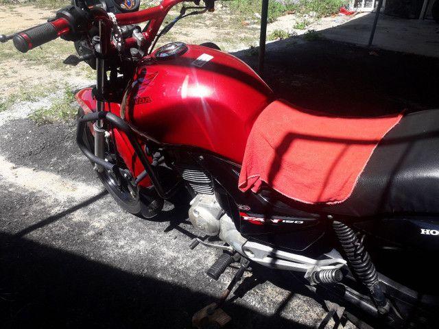 Moto fan 150 cc cg Honda semi nova  - Foto 5