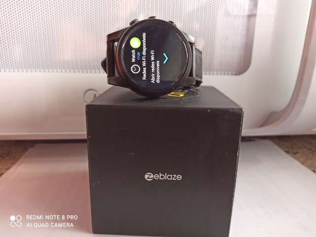 Smartwatch Zeblaze Thor 4 Pro Câmera Wifi 4g Gps - Foto 5