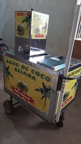 Vendo carrinho de Água de Coco - Foto 3