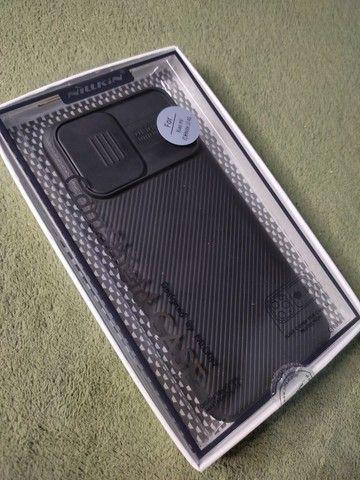 Caso Xiaomi Redmi note 10 c/ proteção da câmera slide - nillkin camshield  - Foto 3