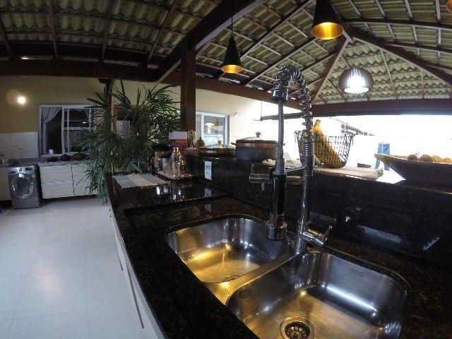 R&is - Casa planta B com linda área gourmet no Aldeia Parque Igarapé - Foto 20