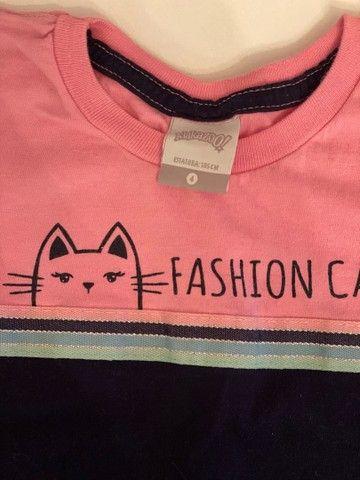 Combo roupas menina de 4 -5  anos  - Foto 5