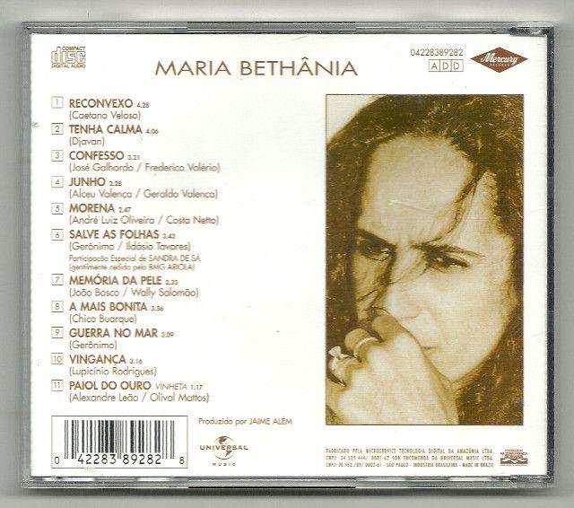 CD - Maria Bethania - Memoria da Pele - Foto 2