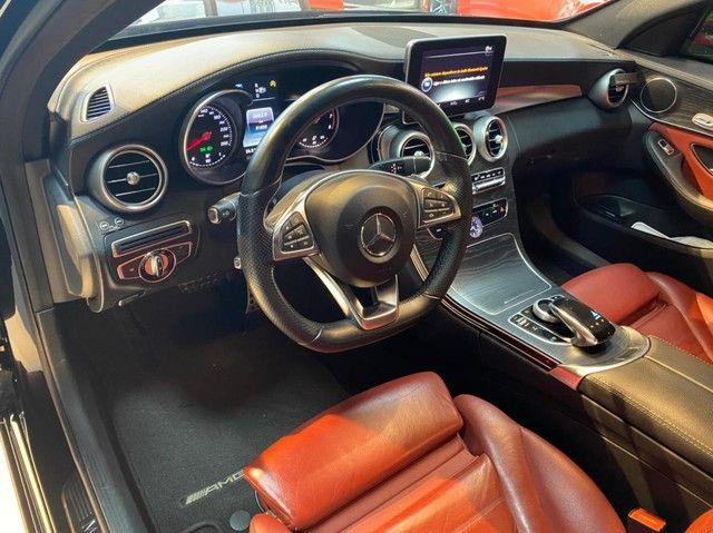 Mercedes C250 Sport, 2015, interior vermelho, blindada nível 3A, configuração Linda  - Foto 8