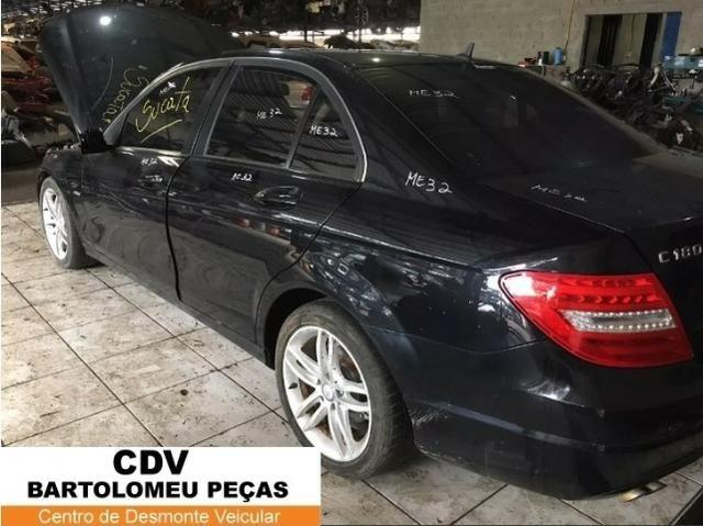 Peças Sucata Mercedes Benz C180 cgi 2012 - Foto 2