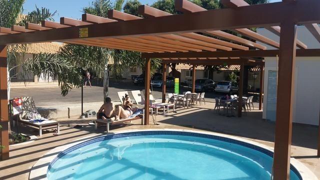 Apartamento de frente para as piscinas, Resort Di Roma, completo