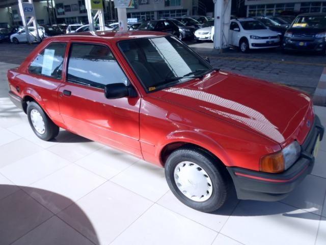 Ford Escort Hobby 1.0 - Carro de Coleção - Original - Foto 3
