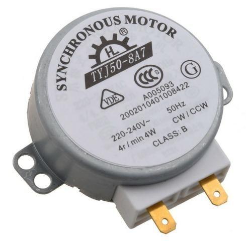 COD-CP75 Motor Micro ondas 49TYZ-A2 Ac 220-240V CW/CCW 4 W 4 Rpm - Chocadeira Arduino A - Foto 2