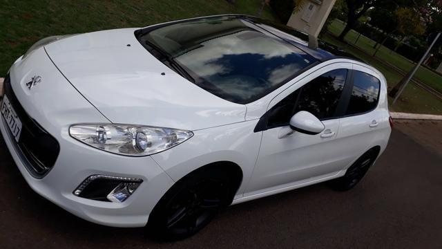 Peugeot 308 branco top teto 2.0 - Foto 4