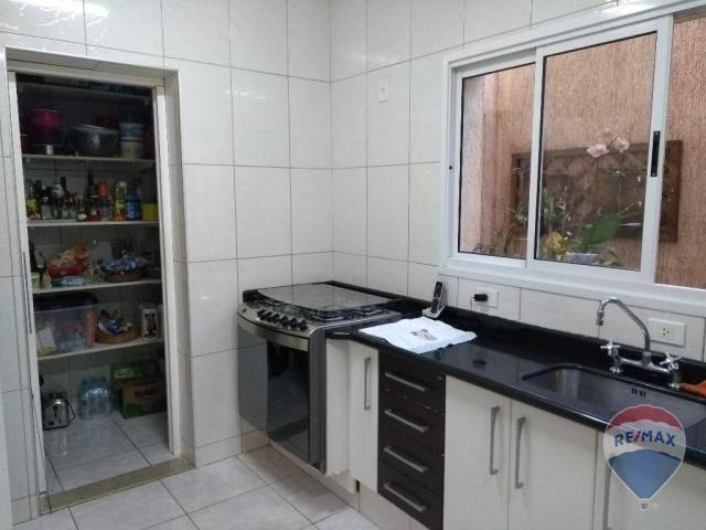 Casa 03 dormitórios, locação, Jardim Bela Vista III, Cosmópolis. - Foto 13
