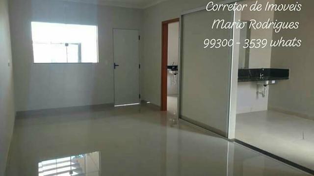 Casa Nova de 3 quartos uma suite bairro Rita Viera ( Asfalto ) - Foto 2