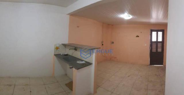 Casa com 2 dormitórios para alugar e vender, 60 m² por r$ 450,00/mês - dias macedo - forta - Foto 2