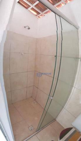 Casa com 2 dormitórios para alugar e vender, 60 m² por r$ 450,00/mês - dias macedo - forta - Foto 9
