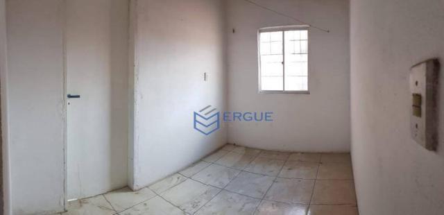 Casa com 2 dormitórios para alugar e vender, 60 m² por r$ 450,00/mês - dias macedo - forta - Foto 5