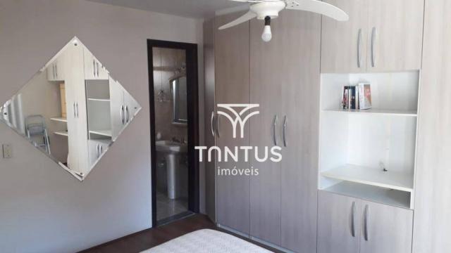 Sobrado com 3 dormitórios à venda, 115 m² por r$ 615.000 - santa cândida - curitiba/pr - Foto 14