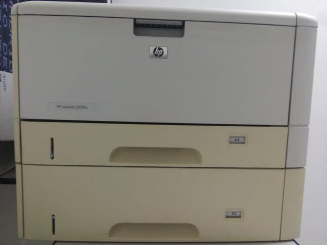 Impressora HP LaserJet 5200tn - Foto 5