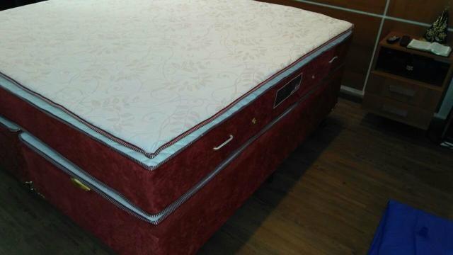 Colchão varios tamanhos molas alto conforto com pilow top de visco elást - Foto 2