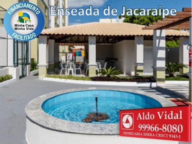 ARV34- Apê Novo em Jacaraipe, 2 quartos com suíte e varanda - Foto 10