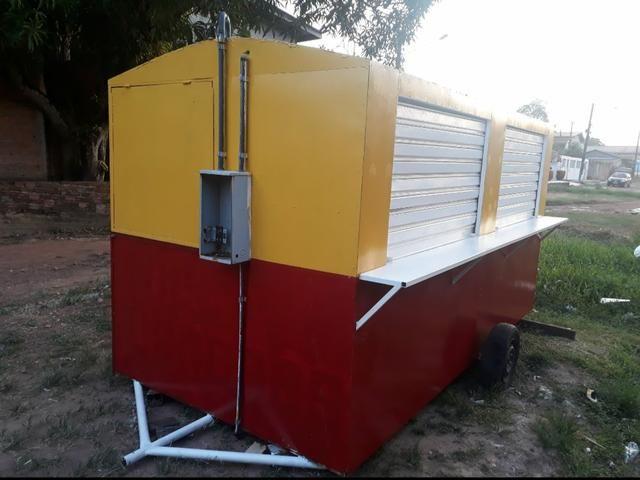 Vende-se um trailer pra lanchonete