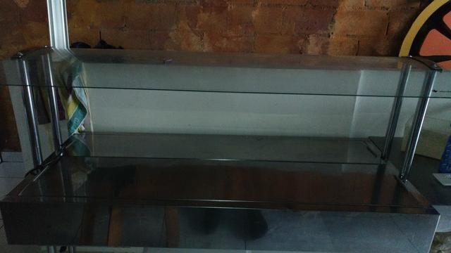 Balcão serve self aquecido para restaurantes ,carro térmico - Foto 2