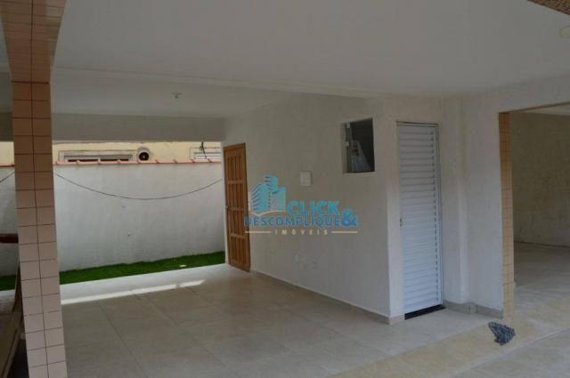 Casa com 2 dormitórios à venda, 87 m² por R$ 380.000,00 - Estuário - Santos/SP