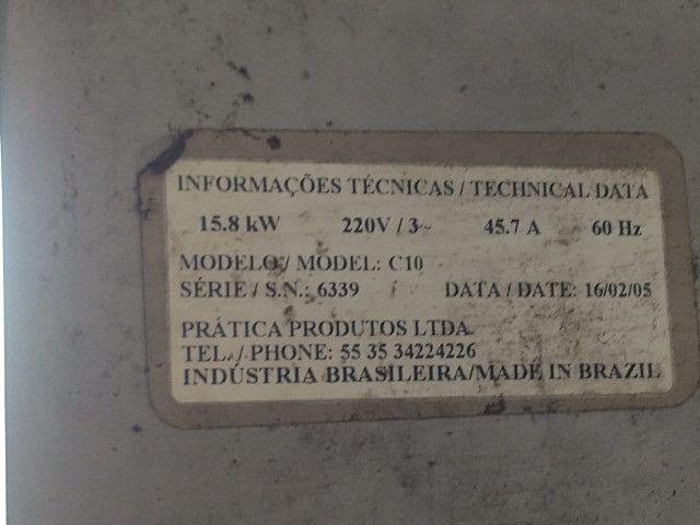 Forno elétrico industrial 220 tri - Foto 2
