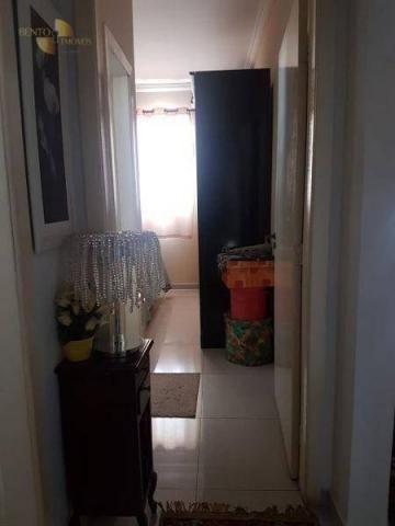 Apartamento com 2 dormitórios à venda, 68 m² por R$ 250. - Verdão - Cuiabá/MT - Foto 7