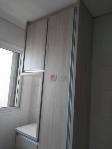 Apartamento com 3 dormitórios para alugar, 70 m² por R$ 1.600/mês - Boa Vista - São José d - Foto 3