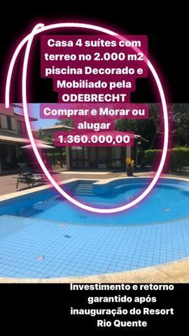 Casas em Quintas Sauípe Laguna mobiliada reformada pela ODEBRECHT