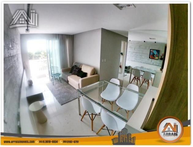 Apartamento com 2 Quartos mais Suite Master à venda no Bairro Benfica - AQUARELA CONDOMÍNI - Foto 5