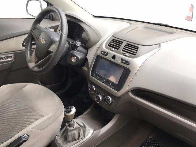 Chevrolet Cobalt ltz 1.4 completo c/ multimídia _ peq entrada + 48x 669,99 fixas - Foto 5