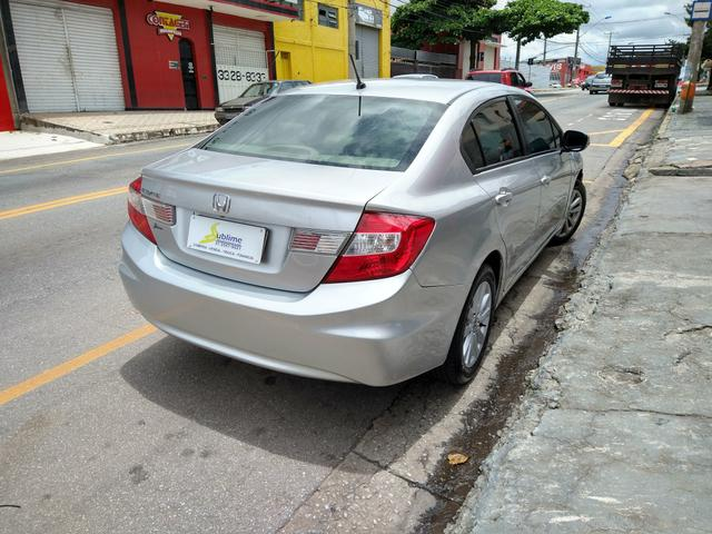 Civic LXL 1.8 AUT C/Couro 2012/12 IPVA 2020 PAGO - Foto 3