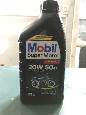 Oleo mobil 20w50 R$ 20,90 (Entrega Grátis)