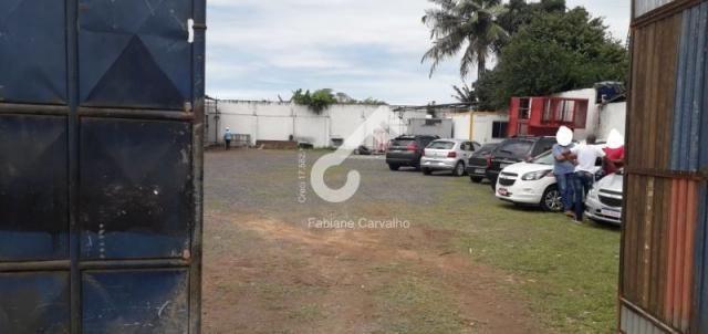 SÃO SEBASTIÃO DO PASSÉ, Centro! Galpão com 1.400m² com área edificada coberta. R$3.200,00. - Foto 3